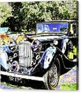 Psychedelic Classic Lagonda Acrylic Print