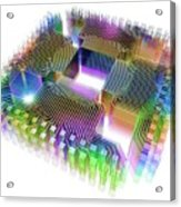 Quantum Computer Acrylic Print