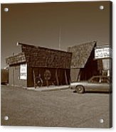 Route 66 - Bagdad Cafe Acrylic Print