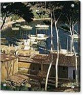 Rusi�ol I Prats, Santiago 1861-1931 Acrylic Print