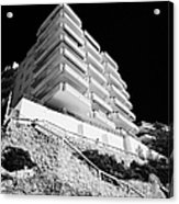 Salou Waterfront Properties On The Costa Dorada Catalonia Spain Acrylic Print