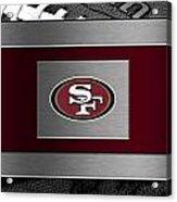 San Francisco 49ers Acrylic Print by Joe Hamilton