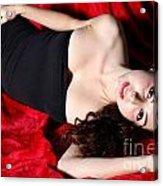 Sexy Woman Acrylic Print