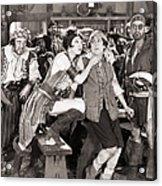 Silent Film Still: Pirates Acrylic Print