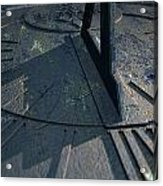 Sundial Lost In Time Acrylic Print