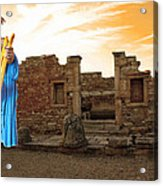 The Palaestra - Apollo Sanctuary Acrylic Print