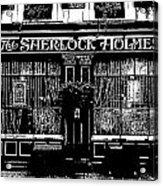 The Sherlock Holmes Pub Acrylic Print
