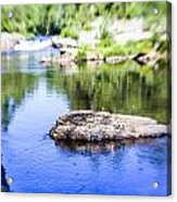 The Stream In Mountain Acrylic Print