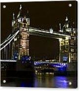 Tower Bridge London Acrylic Print
