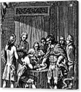 Treaty Of Paris, 1783 Acrylic Print