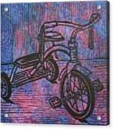 Tricycle Acrylic Print
