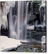Usa, West Virginia, Blackwater Falls Acrylic Print