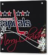 Washington Capitals Acrylic Print