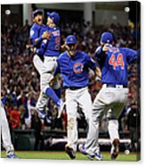World Series - Chicago Cubs V Cleveland 7 Acrylic Print