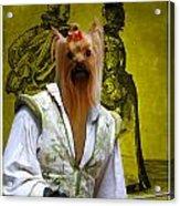 Yorkshire Terrier Art Canvas Print Acrylic Print