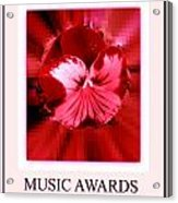 Music Awards Acrylic Print