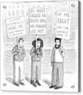 New Yorker December 3rd, 2007 Acrylic Print