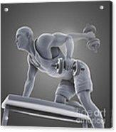 Exercise Workout Acrylic Print