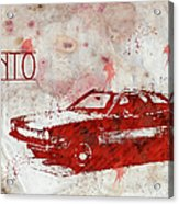 71 Pinto Acrylic Print