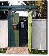 717 Gate Open Coronado California Acrylic Print