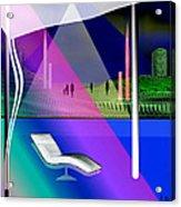717 - Strange Relaxation Acrylic Print