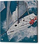 Miami Sail Week Acrylic Print