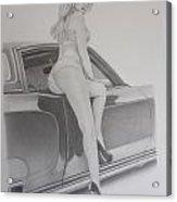 72' Monte  Acrylic Print