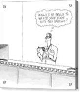 New Yorker May 16th, 2005 Acrylic Print
