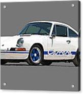 '73 Porsche 911 Carrera 2.7 Rs Acrylic Print