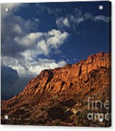 clearing storm waterpocket fold capitol reef NP Acrylic Print