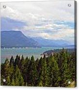 749p Columbia Lake Canada Acrylic Print