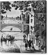 Benjamin Franklin (1706-1790) Acrylic Print