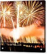 75th Golden Gate Bridge Celebration Acrylic Print