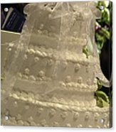 #775 D138 Cake All White  Acrylic Print