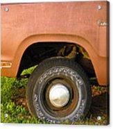 78 Dodge Power Wagon  Acrylic Print