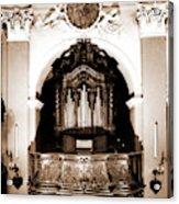 Abruzzo, Aquila, Sulmona, Chiesa Dell Annunziata Acrylic Print