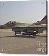 An F-16c Barak Of The Israeli Air Force Acrylic Print