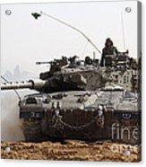 An Israel Defense Force Merkava Mark II Acrylic Print