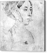 Anne Boleyn (1507-1536) Acrylic Print