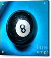8 Ball Acrylic Print