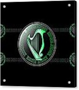 Celtic Harp Acrylic Print