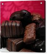Chocolate Candies Acrylic Print by Amy Cicconi