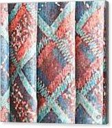 Colorful Cloth Acrylic Print