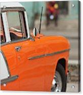 Cuba, Havana, Havana Vieja, Morning Acrylic Print