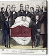 Death Of Lincoln, 1865 Acrylic Print