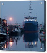 Early Morning In Portland, Maine Acrylic Print