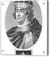 Edward I (1239-1307) Acrylic Print