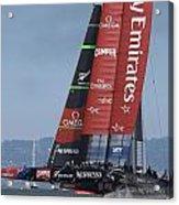 Emirates Team New Zealand Acrylic Print