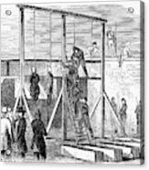 Execution Of Conspirators Acrylic Print