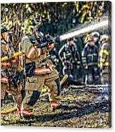 Firefighters Acrylic Print